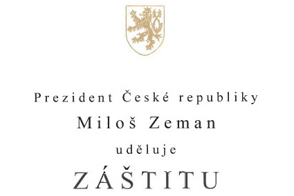 The auspices of the President of the Czech Republic